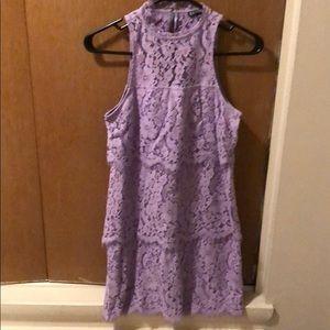 Light purple dress xxs express
